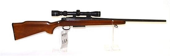 Remington Model 788 (left hand) bolt action rifle. Cal. 6 mm Rem. 22