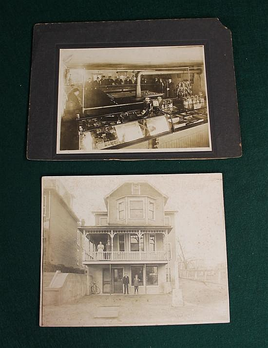 2 pc. Set of Pool Room Photos 61/2