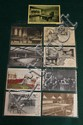 Lot of 9 pc. European, Japanese and New Zealand billiard post cards.