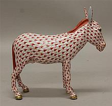 Herend Porcelain Donkey