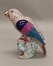 Herend Porcelain Parrot