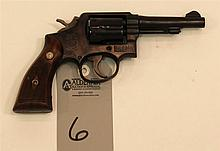 Smith & Wesson M & P (pre Model 10) double action revolver. Cal. 38 Spcl. 4