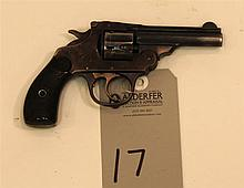 Iver Johnson Arms & Cycle Works Safety Hammer double action revolver. Cal. 32 S&W. 3