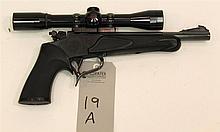 Thompson Center Arms Contender single shot pistol. Cal. 22 Hornet. 10