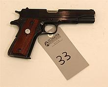 Colt Super 38 1911 semi-automatic pistol. Cal. 38 Super. 5
