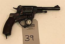 Russian Nagant Model 1895 double action revolver. Cal. 7.62 mm. 4-1/2