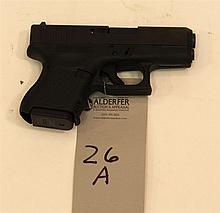 Glock Model 27 semi-automatic pistol. Cal. 40. 3-1/4
