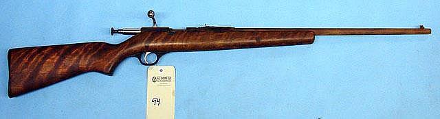 JC Higgins Model 10318 bolt action rifle. Cal. 22.