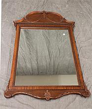 Carved Mahogany Mirror 48