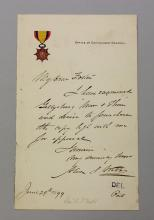Alexander S. Webb Autograph