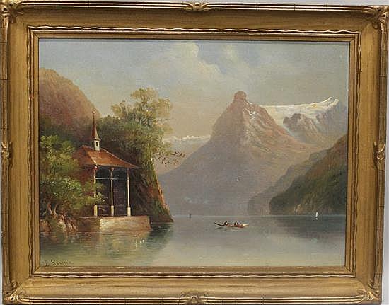 Grossen E Pseudonym Of Hubert Sattler 1817 1904 Austri