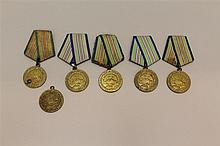 Soviet Defense of the Caucasus Medals