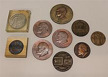 Grouping of Soviet Table Medals