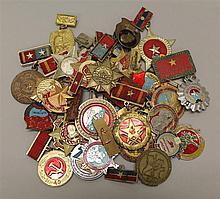 Vietnam War Pins - North Vietnam