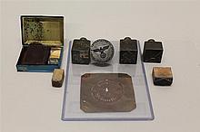 German WWII Stencils, Dies, and Seals