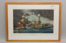 Robert Taylor military lithograph titled