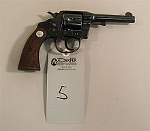 Colt Police Positive double action revolver. Cal. 38. 4