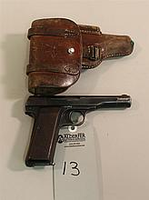 Belgium Browning M22 semi-automatic pistol. Cal. 7.65 mm. 4-1/2