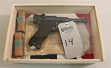 German Mauser PO 8 Luger S/42 K date semi-automatic pistol with capture papers. Cal. 9 mm. 4