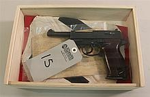 German Mauser P38 semi-automatic pistol with capture papers. Cal. 9 mm. 4