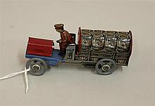 German Penny Toy Beer Truck, excellent condition, 3 3/4
