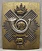British Highland Light Infantry Crossbelt Plate