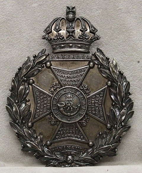 19th Century Shako Plate - British Rifle Brigade