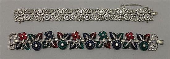 Vintage Trifari Bracelets. Lot of 2.