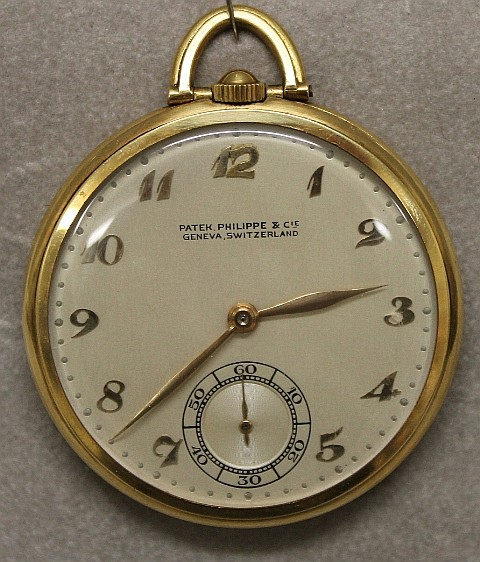 18K Yellow Gold Patek Philippe Pocket Watch