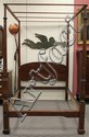 Chippendale Carved Mahogany Tester Bedstead
