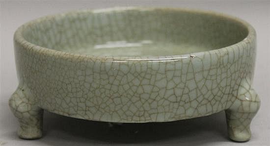 Chinese Porcelain Tripod Censor