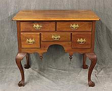 Queen Anne Style Lowboy