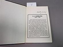 A.J. Liebling signed book-