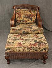 2 Piece Wicker Set by Braxton Culler, (1) Chair 36