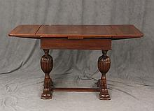 Victorian Refractory Table, Oak, 31 1/4