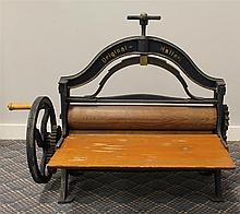 Original Haller Laundry Press, Cast Iron, 26