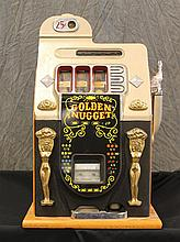 Mills Novelty Company, Golden Nugget Quarter Slot Machine, 27