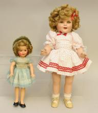 PAIR OF SHIRLEY TEMPLE DOLLS: 12