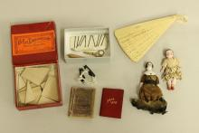 LOT OF ANTIQUE DOLLS AND ACCESSORIES.
