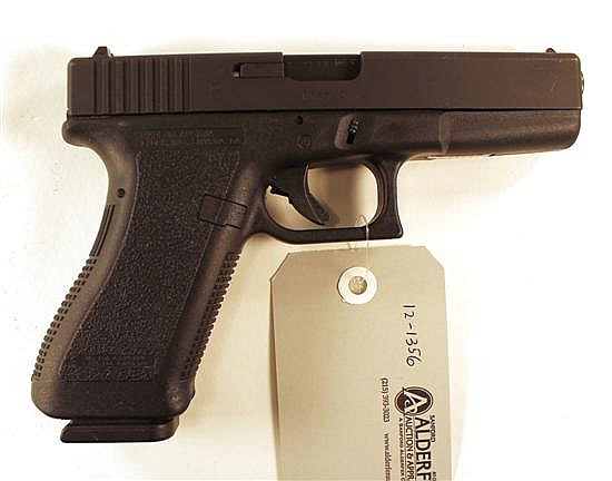 "Glock 22 semi-automatic pistol. Cal. 40 S&W. 4-1/2"" bbl. SN BBR744US. Matte finish on slide, polymer frame, excellent bore. In origi..."