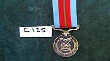 Rhodesian Medals -   Defence  Forces Medal for Mer