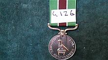 Rhodesian Medals -   Prison Medal for Meritorious