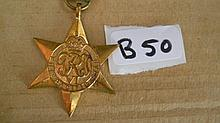 WWII Medals -   Pacific Star SX33884 N.A.PAIGE