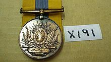 Medals -   Khedive's Sudan bronze medal – edge kno