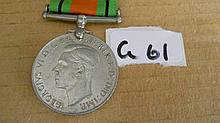 WWII Medals -   Defence Medal unnamed