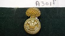Royal Welsh Fusiliers Bi/metal post 1920 cap badge