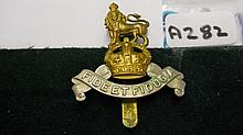 Royal Army Pay Corps cap badge 1929 – has slider