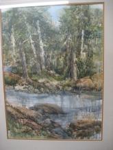 Watercolor, Muriel Dogett