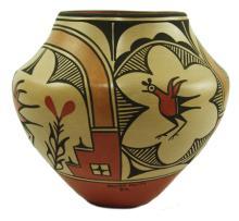 Zia Pottery Jar - Maxine Medina