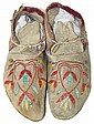 Santee Quilled Moccasins
